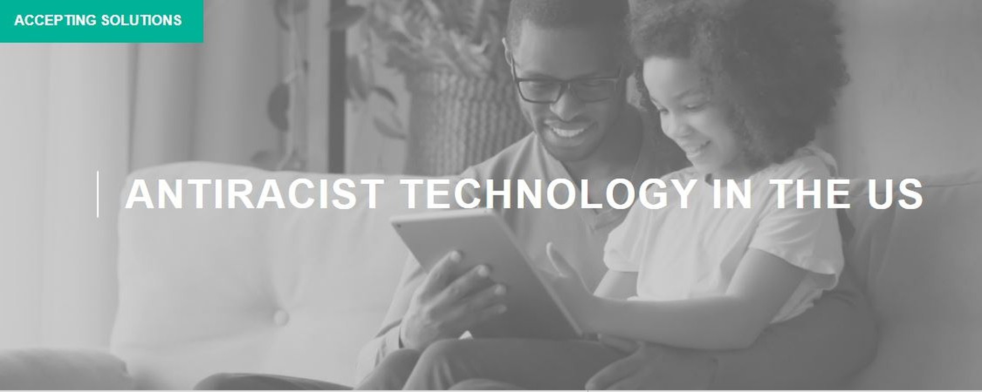 Solve - MIT - Antiracist Technology In The United States Challenge Movemeback African initiative cover image