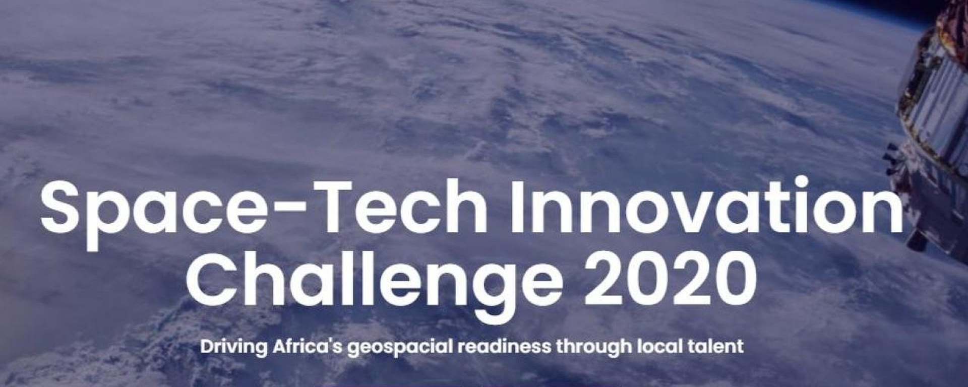 Space in Africa - Space-Tech Challenge 2020 Movemeback African initiative cover image