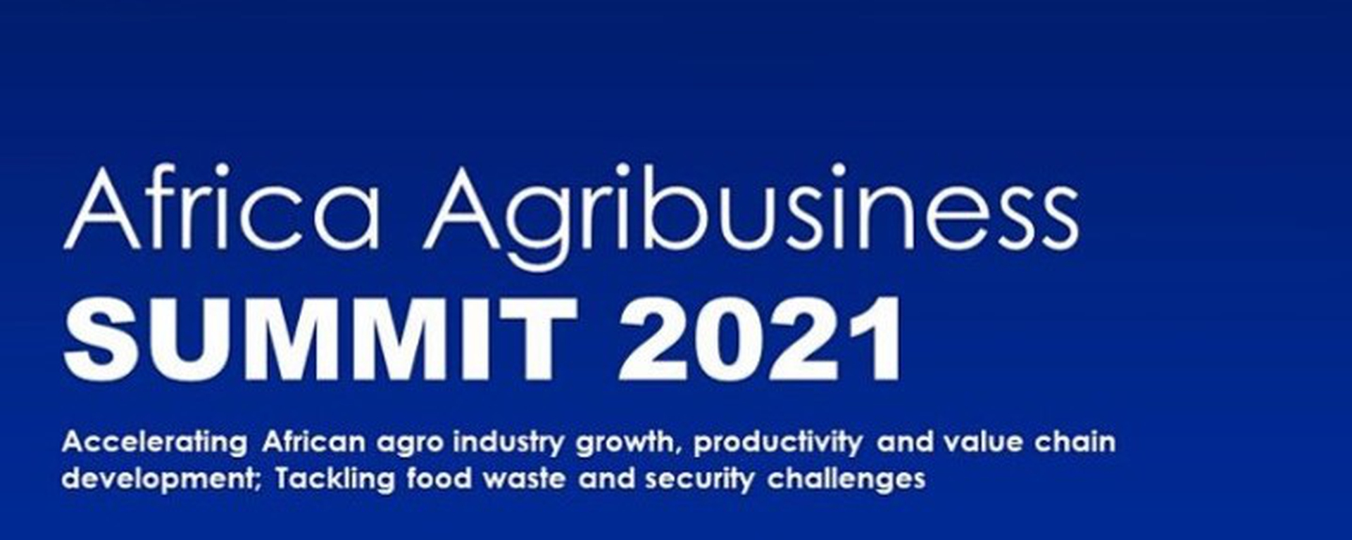 SSCG Consulting - Africa Agribusiness Summit 2021 Movemeback African event cover image
