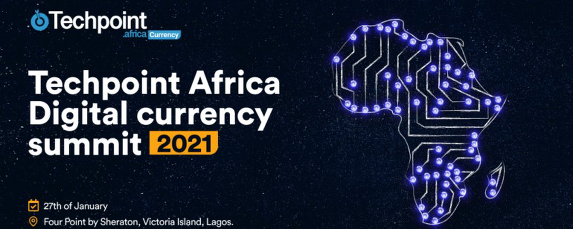 Techpoint Africa - Africa Digital Currency Summit Movemeback African event cover image