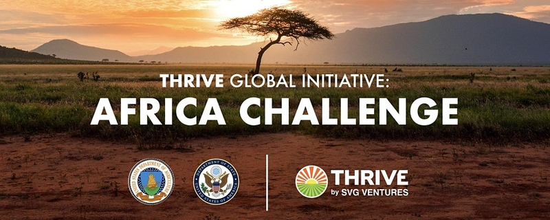 Thrive - Thrive Global Initiative: Africa Challenge Movemeback African event cover image