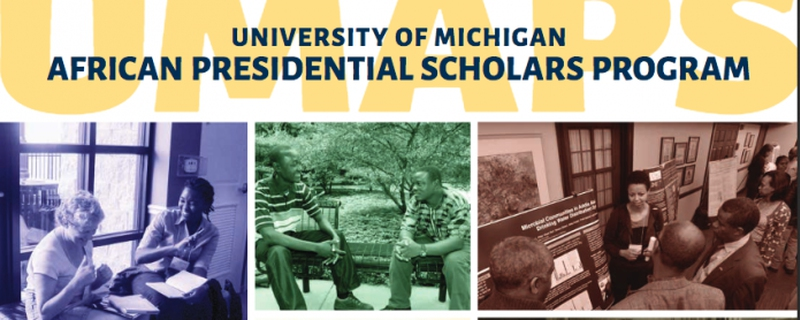 University of Michigan - African Presidential Scholars Program Movemeback African initiative cover image