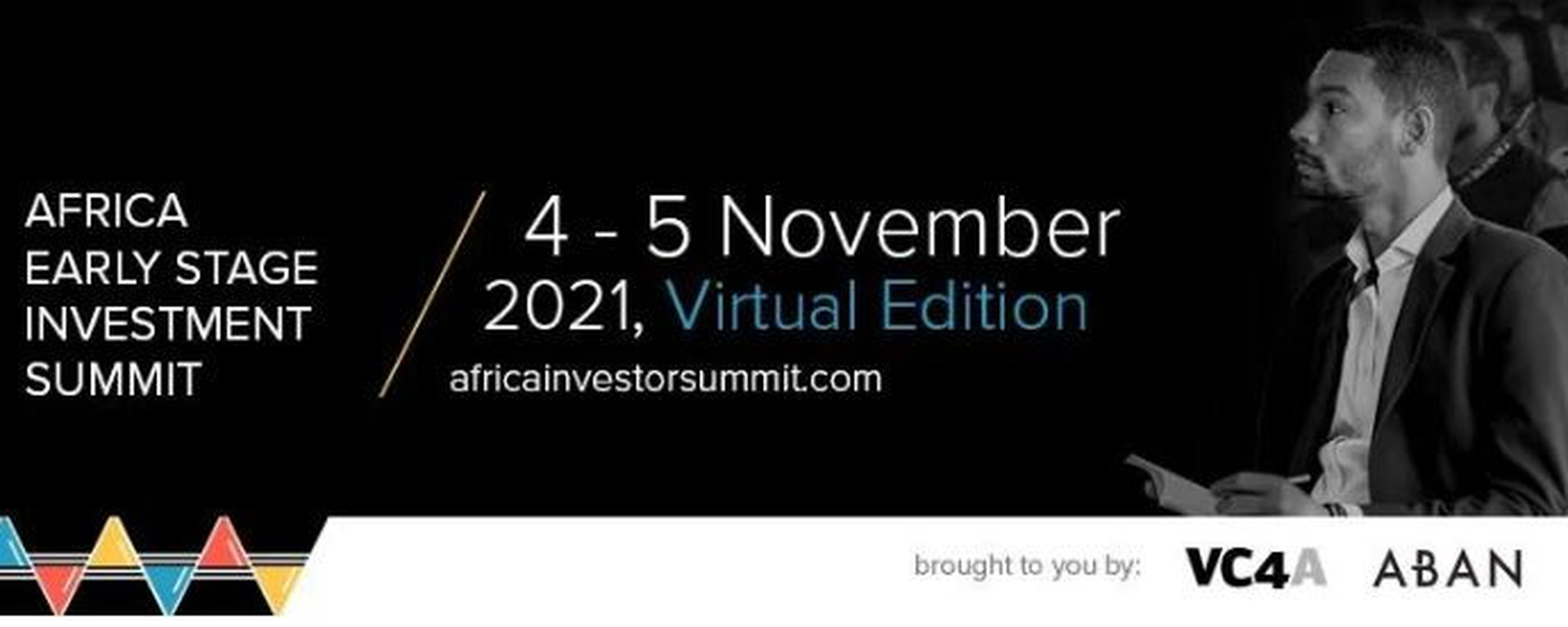 Venture Capital for Africa - Africa Early Stage Investor Summit 2021 Movemeback African event cover image