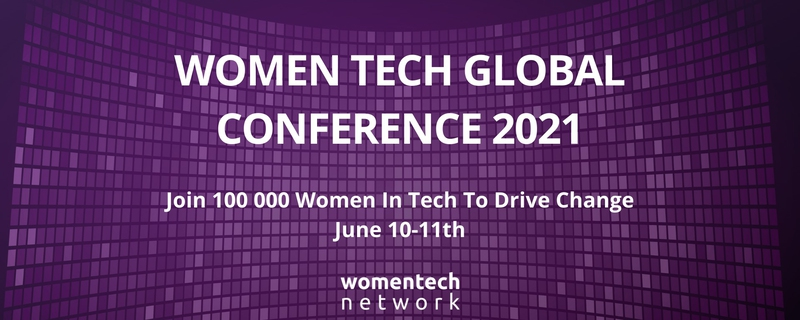 WomenTech Network - Women Tech Global Conference 2021 Movemeback African event cover image