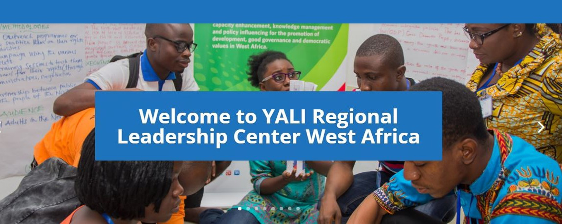 Young African Leaders Initiative (YALI) - YALI West Africa Leaders Program Movemeback African initiative cover image